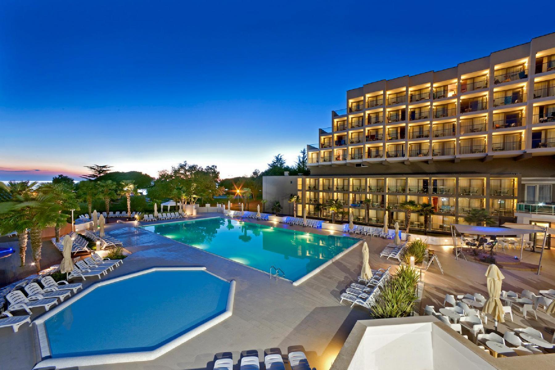 Sportreisen Hannes Zischka, Tennis, Urlaub, Istrien, Kroatien, Porec, Hotel Laguna Materada