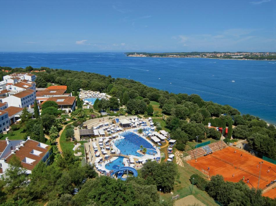 Sportreisen Hannes Zischka, Tennis, Urlaub, Istrien, Kroatien, Porec, Valamar Club Tamaris