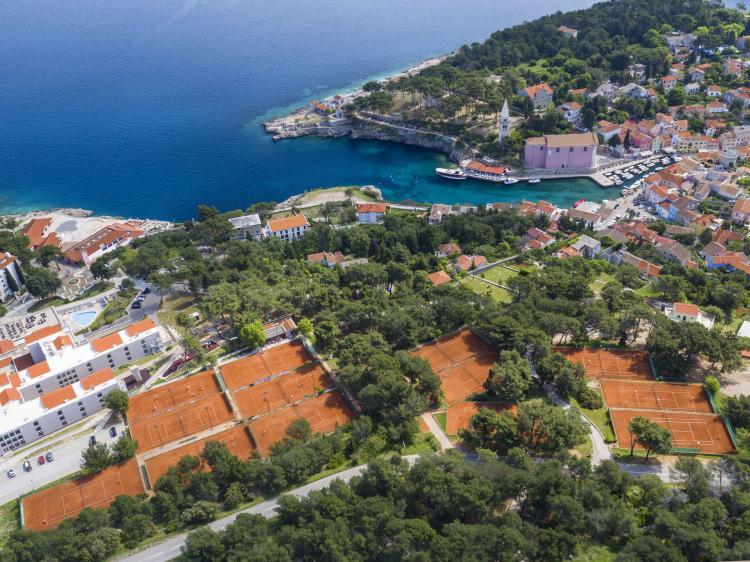 Sportreisen Hannes Zischka, Tennis, Urlaub, Kvarner, Veli Losinj, Vitality Hotel Punta