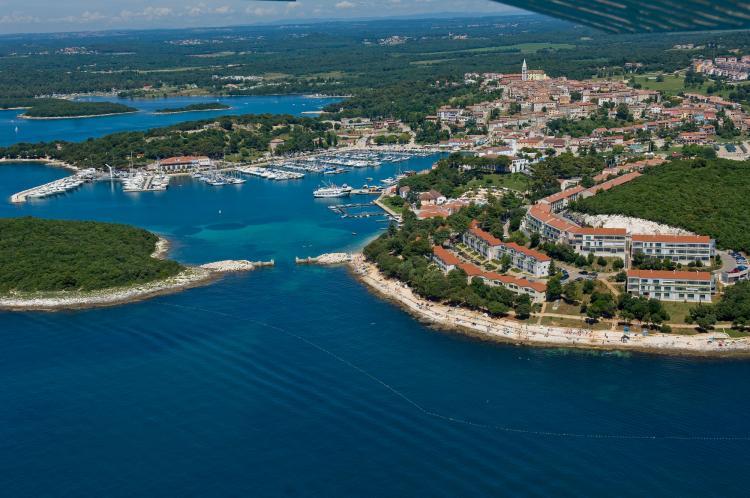 Sportreisen Hannes Zischka, Tennis, Urlaub, Istrien, Vrsar, Resort Belvedere