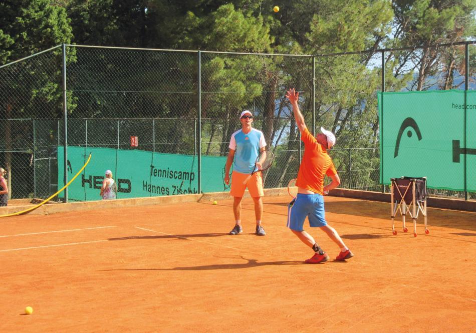 tennis camp urlaub