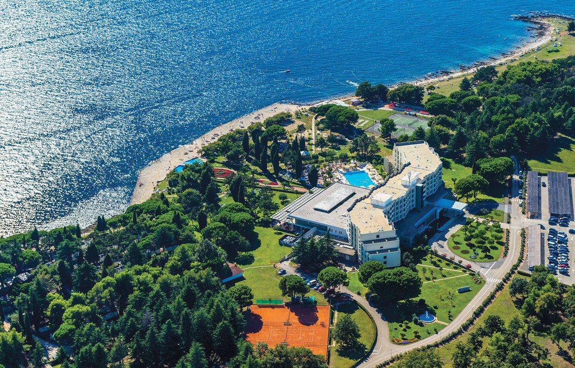 Sportreisen Hannes Zischka, Tennis, Urlaub, Istrien, Kroatien, Materada, Porec