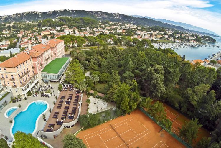 Sportreisen Hannes Zischka, Tennis, Urlaub, Rab, Meer Tennis, Hotel Valamar Imperial