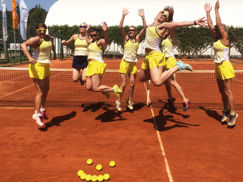 MEER Tennis Zischka Kroatien Istrien Urlaub Training Camp