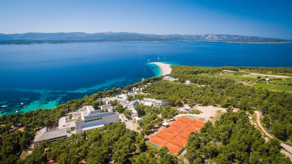 Sportreisen Hannes Zischka, Tennis, Urlaub, Dalmatien, Insel Brac, Bol, Bretanide