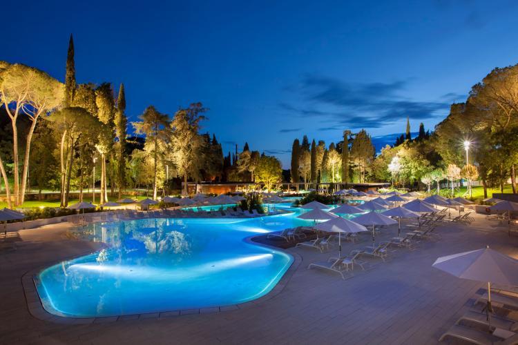 Sportreisen Hannes Zischka, Tennis, Urlaub, Istrien, Rovinj, Hotel Eden