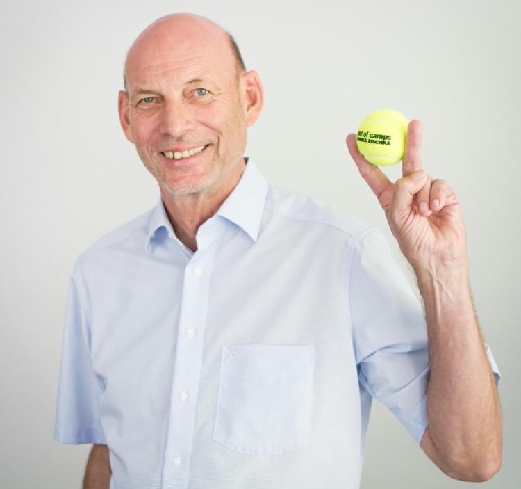 Hannes Zischka - der Tennisprofi