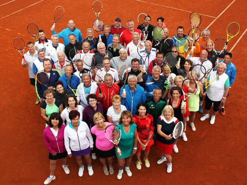 Tennisgruppe, Zischka, Umag, Kroatien, Urlaub,